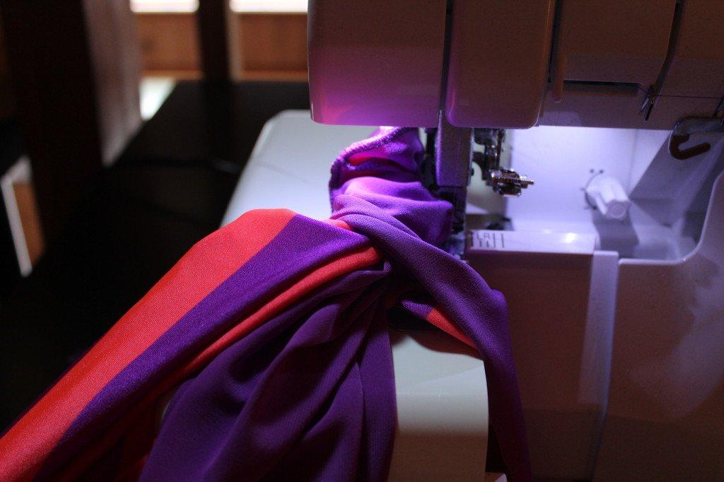 swimsuit sewing machine