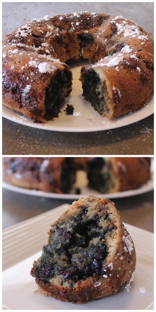 Blueberry Bundt Cake: 3ten.ca